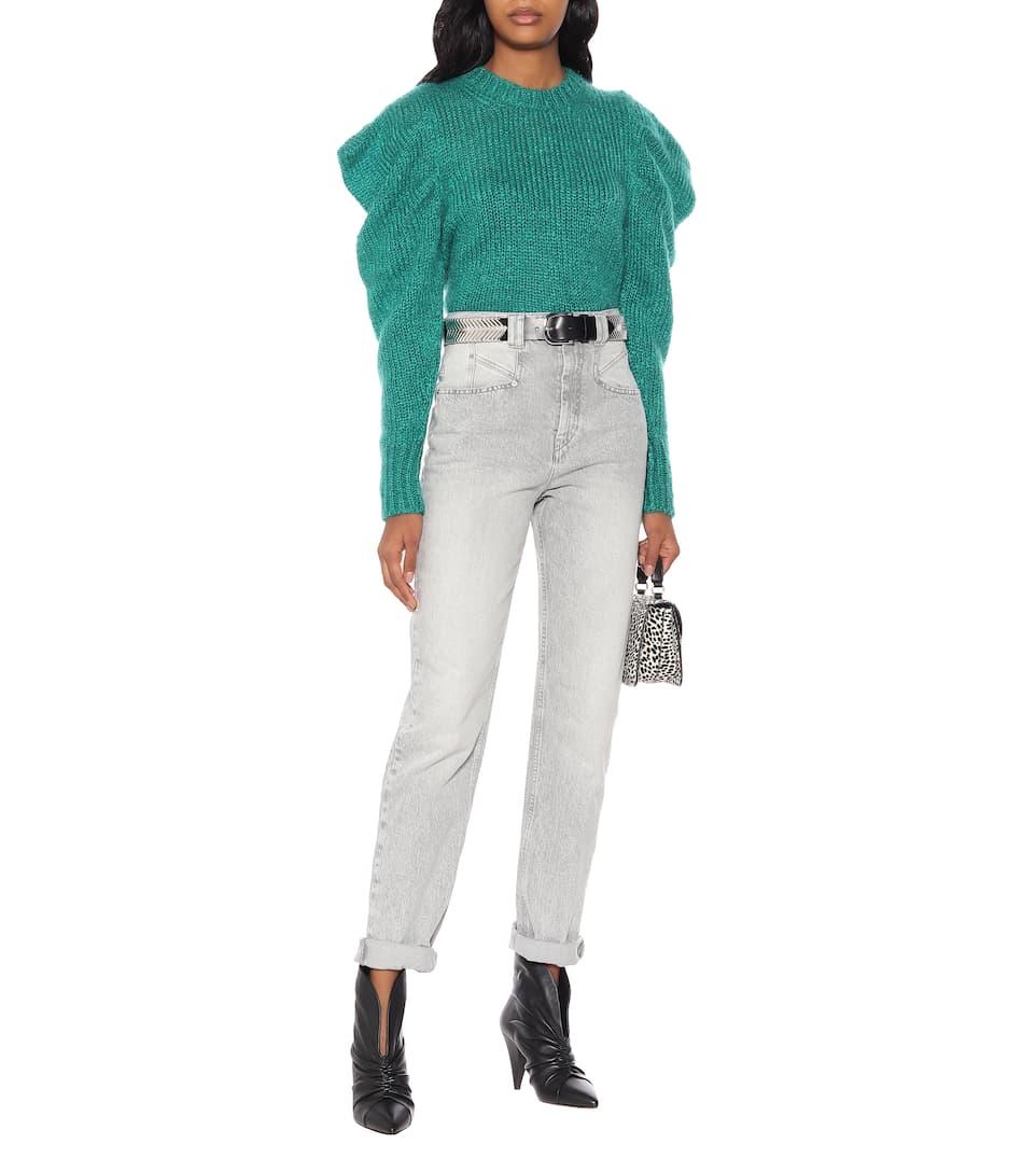 Isabel Marant - Ivelyne mohair-blend sweater