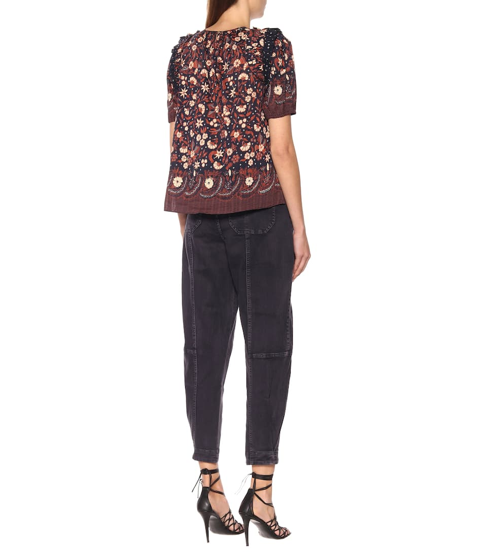 Ulla Johnson - Arbor floral cotton top