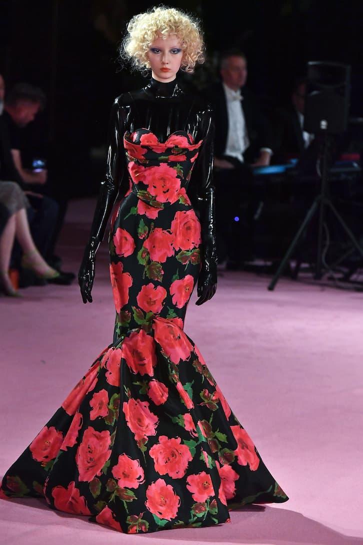 Richard Quinn - Floral taffeta gown