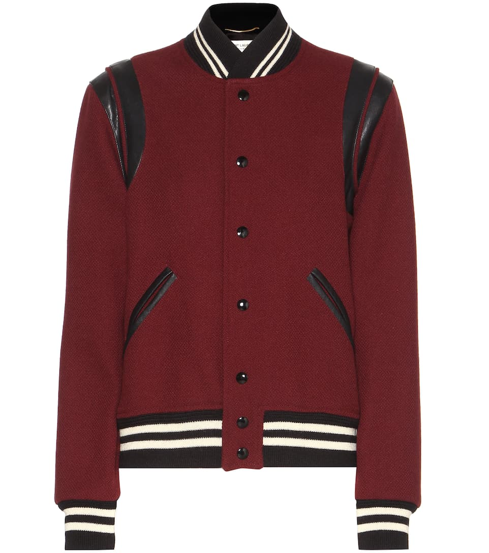 Saint Laurent Classic Teddy virgin wool jacket