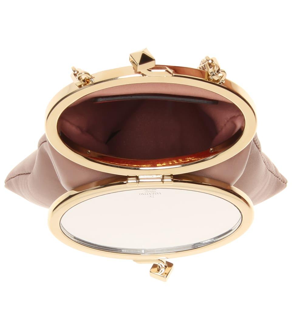 Valentino Garavani - Sac en cuir Soft Mirror UggkdXjR
