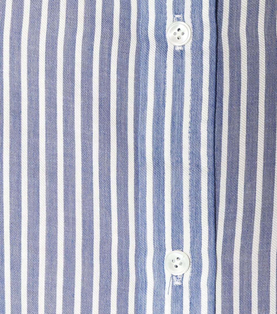 Vince Striped Blouse Made Of Cotton