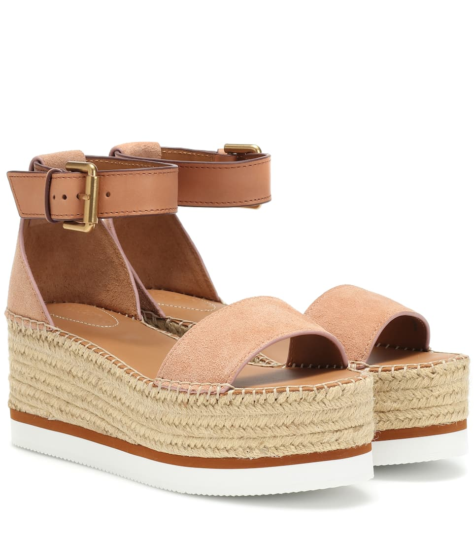 c9bf90898298 Glyn Wedge Espadrille Sandals - See By Chloé