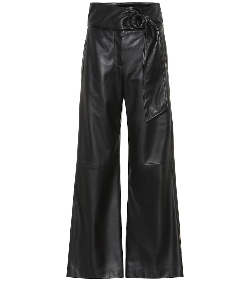 N° Haute Ample En Pantalon À CuirBrunello Artnbsp;p00404358 Cucinelli Taille y80OwmNvn