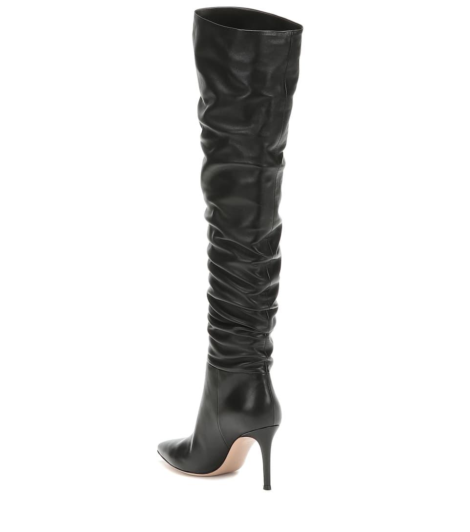 Overknee Stiefel Valeria 85 aus Leder