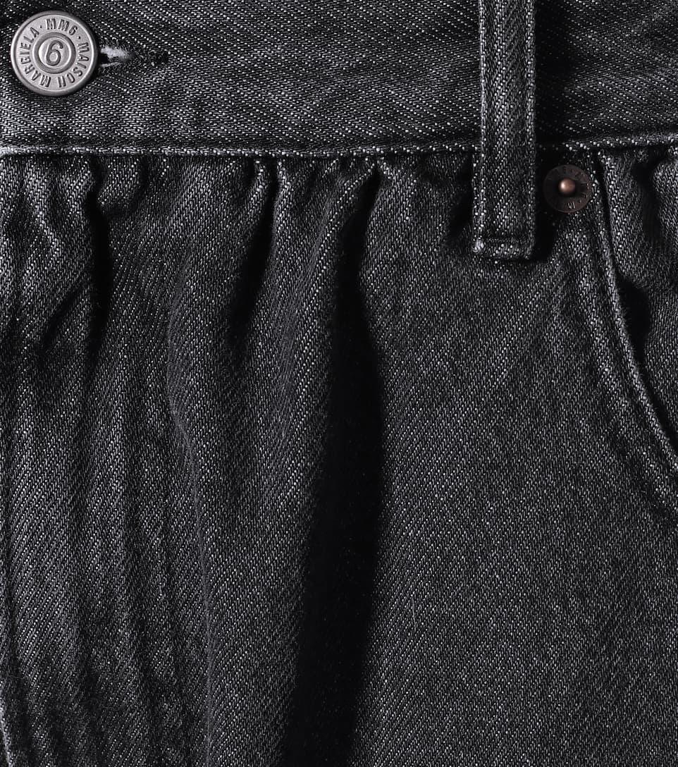 MM6 Maison Margiela - High-rise straight jeans