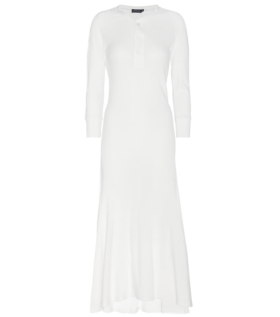 Polo Ralph Lauren Knitted cotton maxi dress