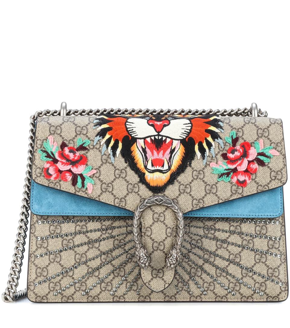 Gucci Schultertasche Dionysus GG Supreme Medium Spielraum Brandneue Unisex Verkauf 100% Original AhjjN0LP3W