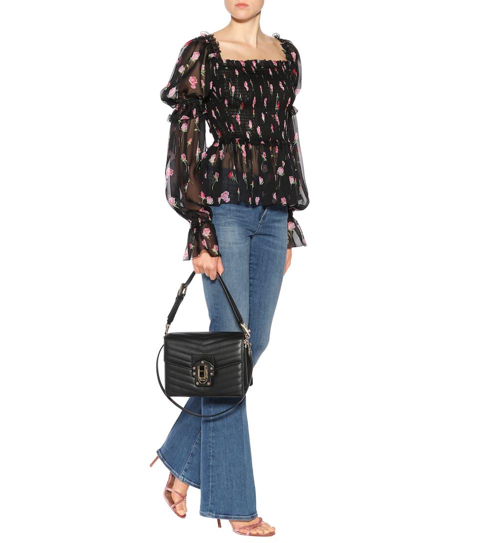 Explorer En Ligne Pas Cher Sac Cross-Body En Cuir Lucia - Dolce & Gabbana Offre Boutique Pas Cher Le Plus Grand Fournisseur De Dédouanement Obtenir La Dernière Mode Cec9f