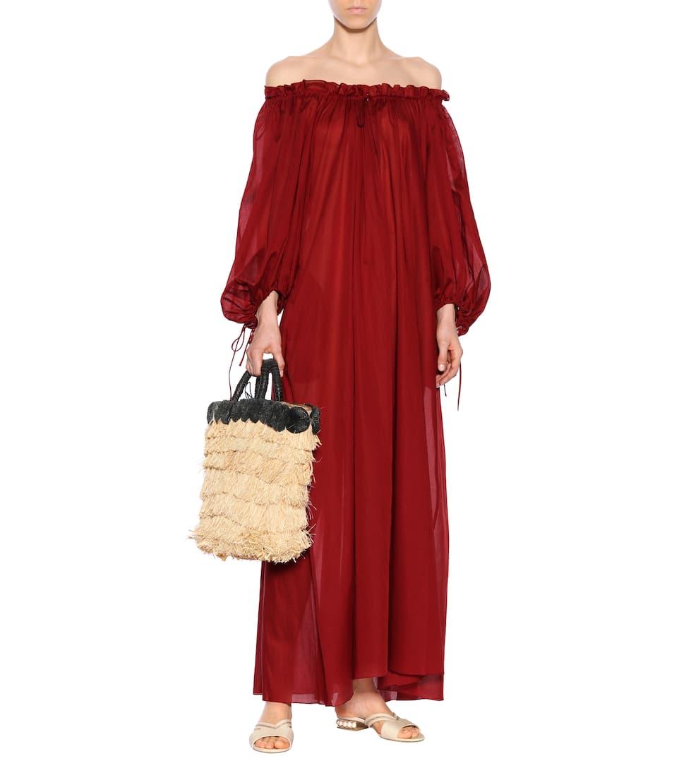 Three Graces London Maxikleid Almost a Honeymoon aus Baumwolle Billig Verkauf Finden Große Mode-Stil Günstig Online MutCMN