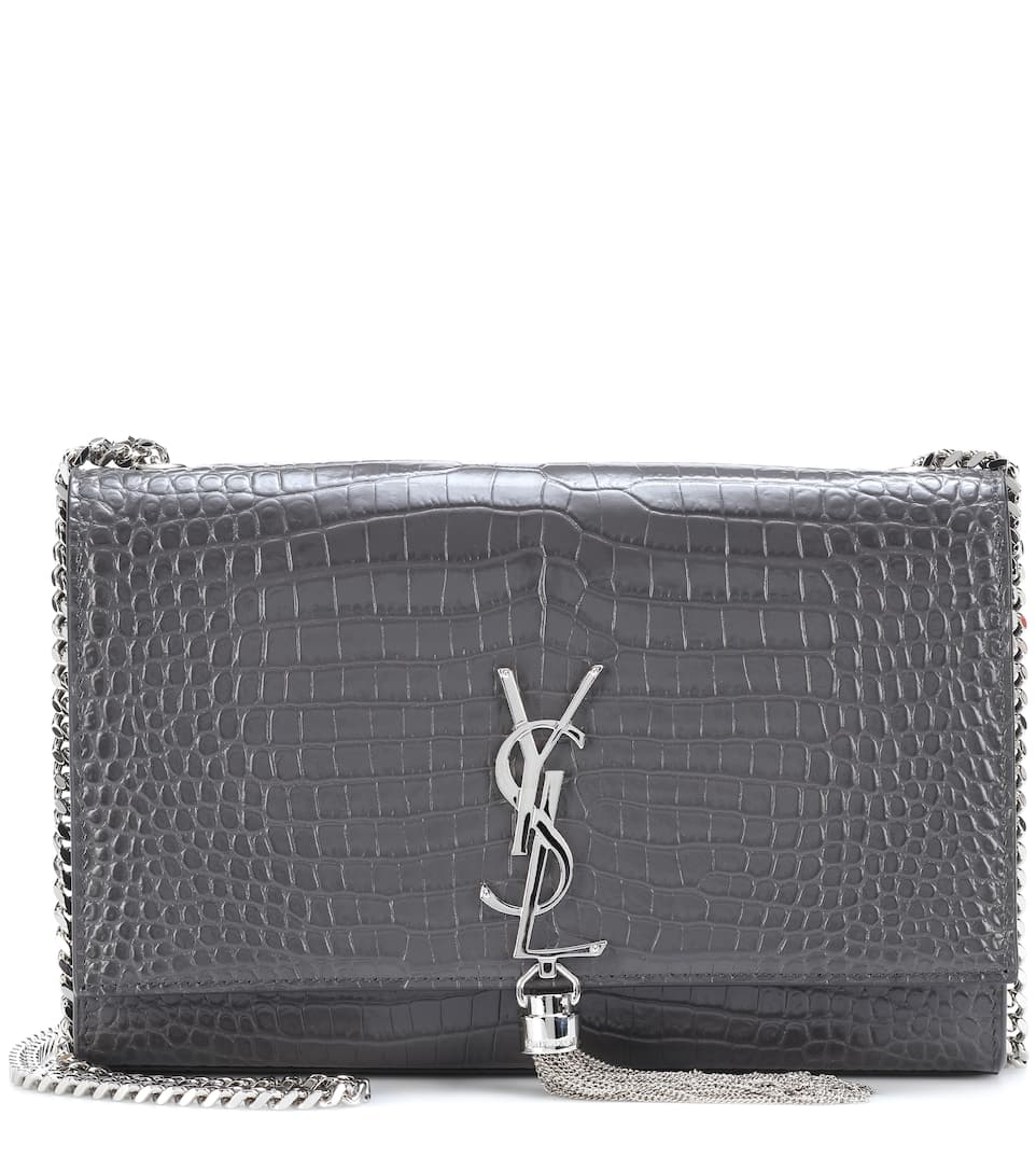 Saint Laurent Schultertasche Kate Medium aus Leder