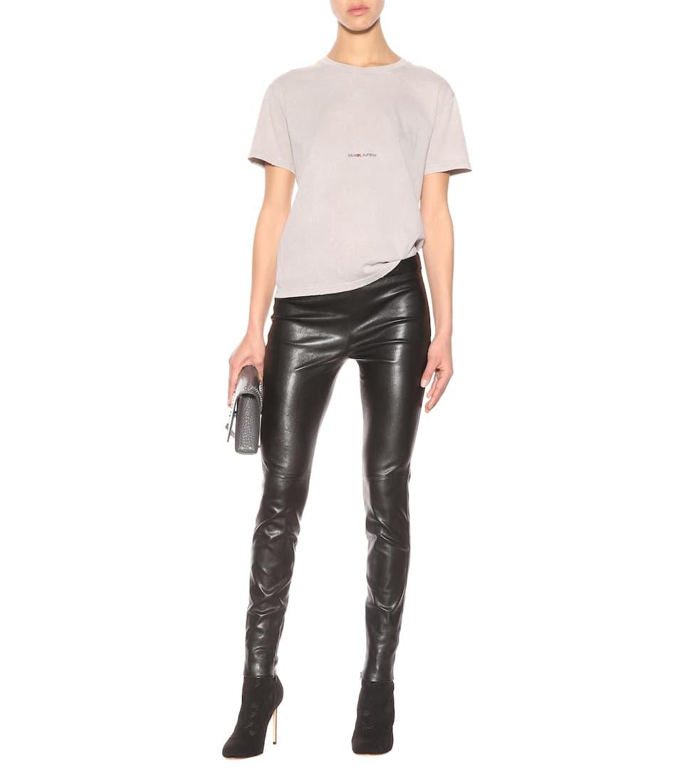 Verkauf Am Besten Ebay Günstig Online Saint Laurent T-Shirt aus Baumwolle Ebay Online Äußerst Verkauf Truhe Finish gkjO0o