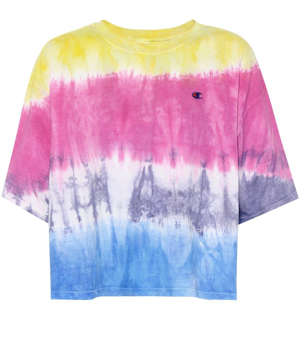 Champion T-Shirt aus Baumwolle