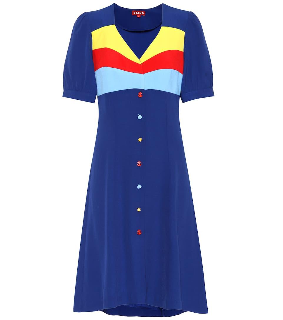 Roger Shirt Dress - Staud