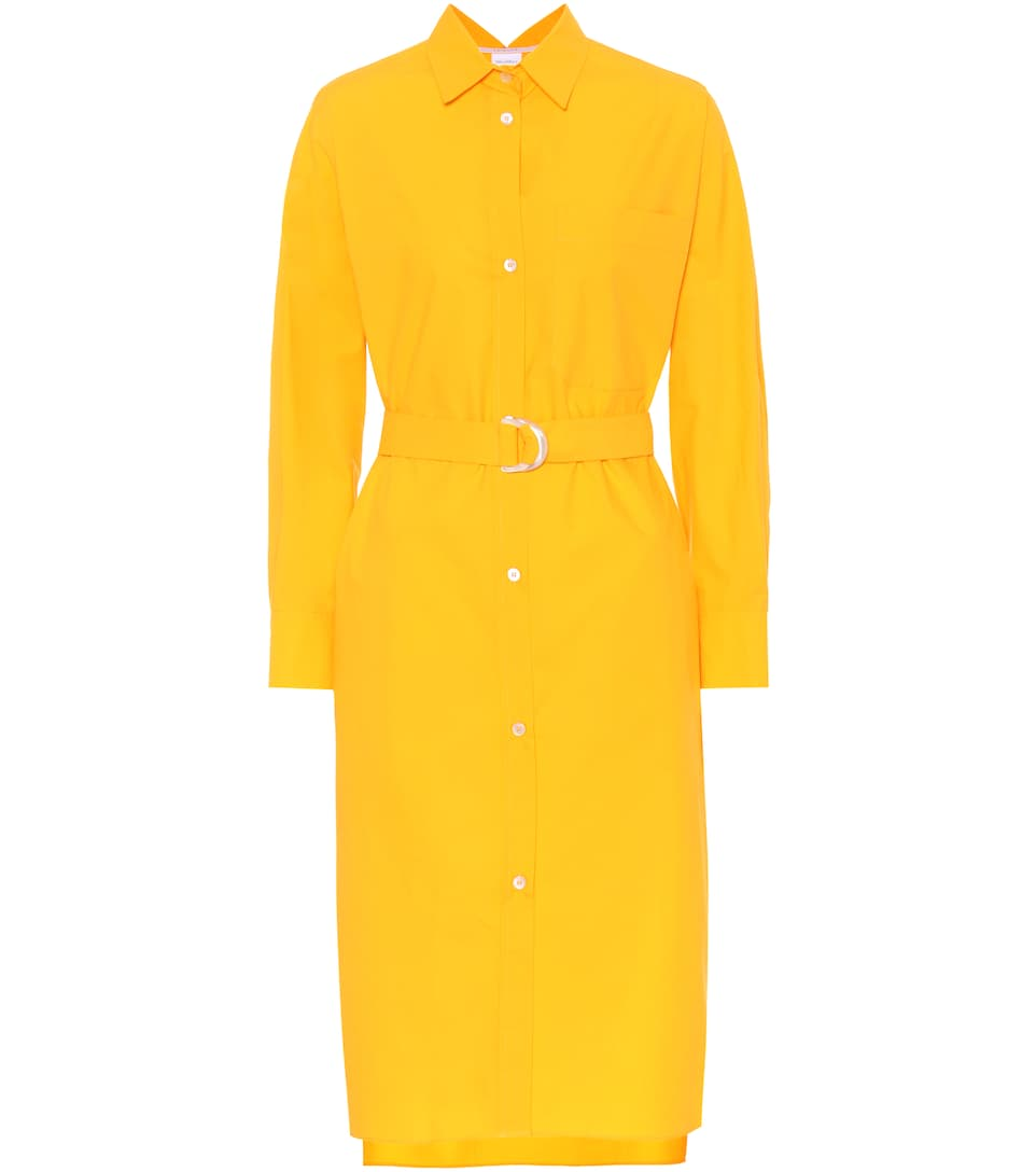 Shoptagr Cabras Cotton Poplin Shirt Dress By Max Mara