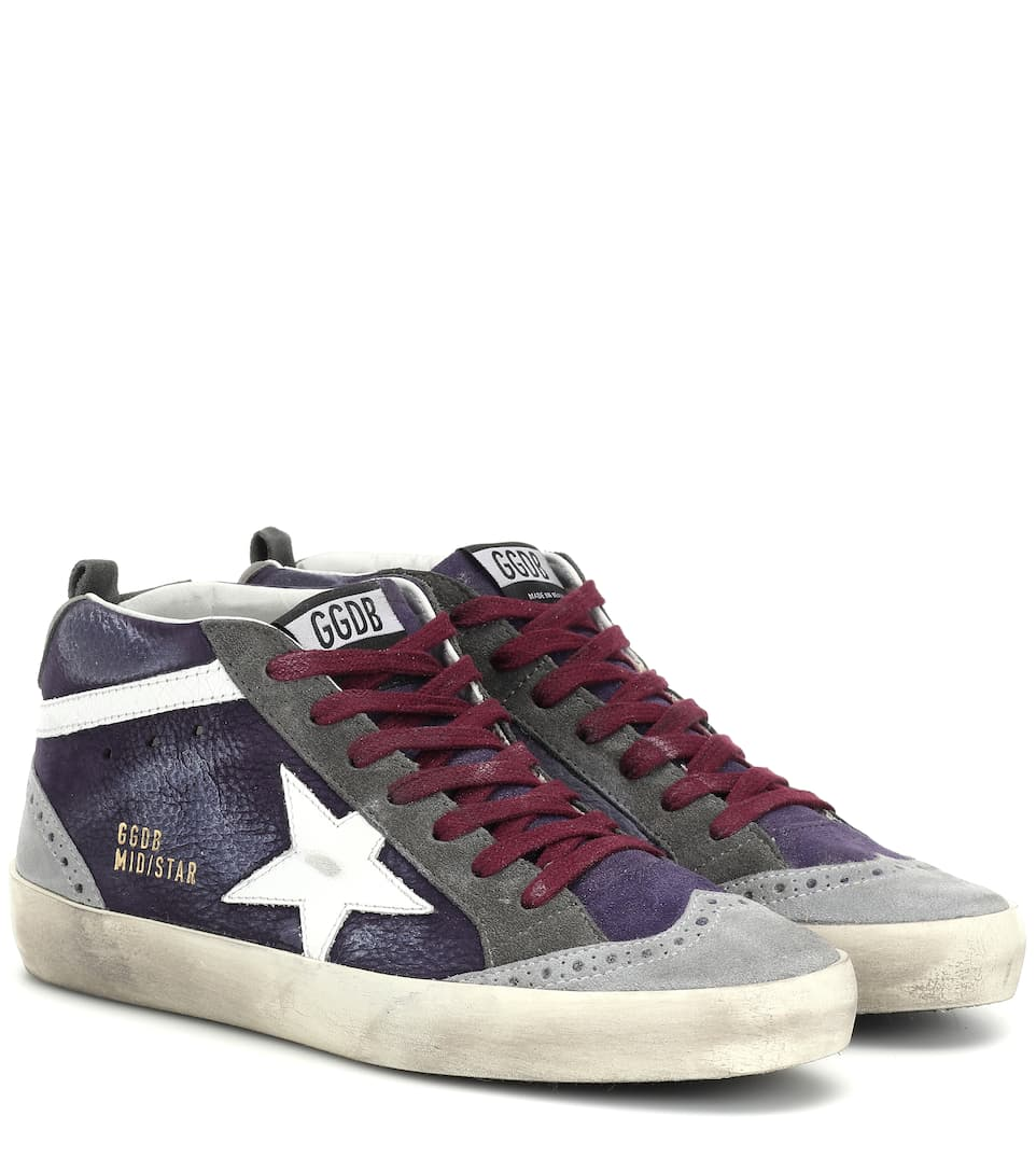 d04ce2d2b050 Mid Star Suede Sneakers