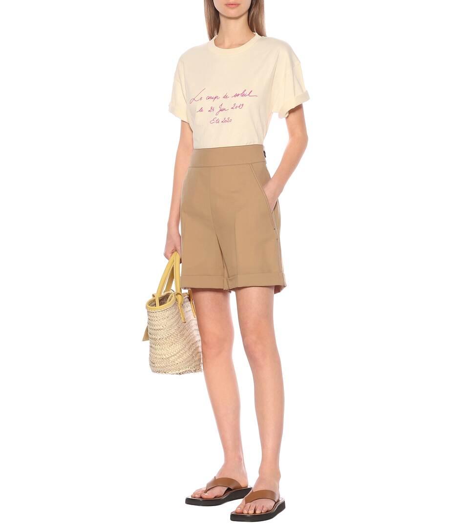 Jacquemus - Le T-Shirt Coup de Soleil cotton T-shirt