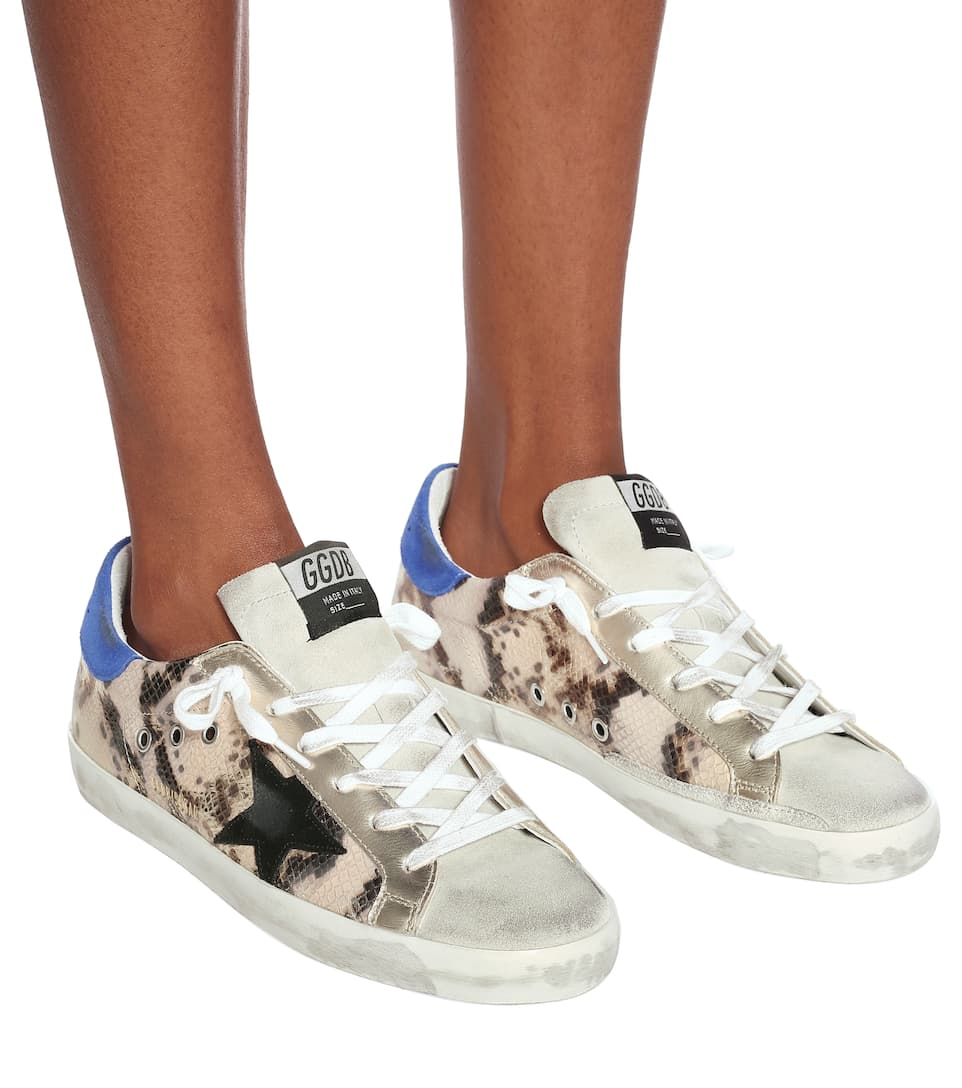 Sneakers Superstar In Pelle Stampata - Golden Goose | Mytheresa ItUNm8xd