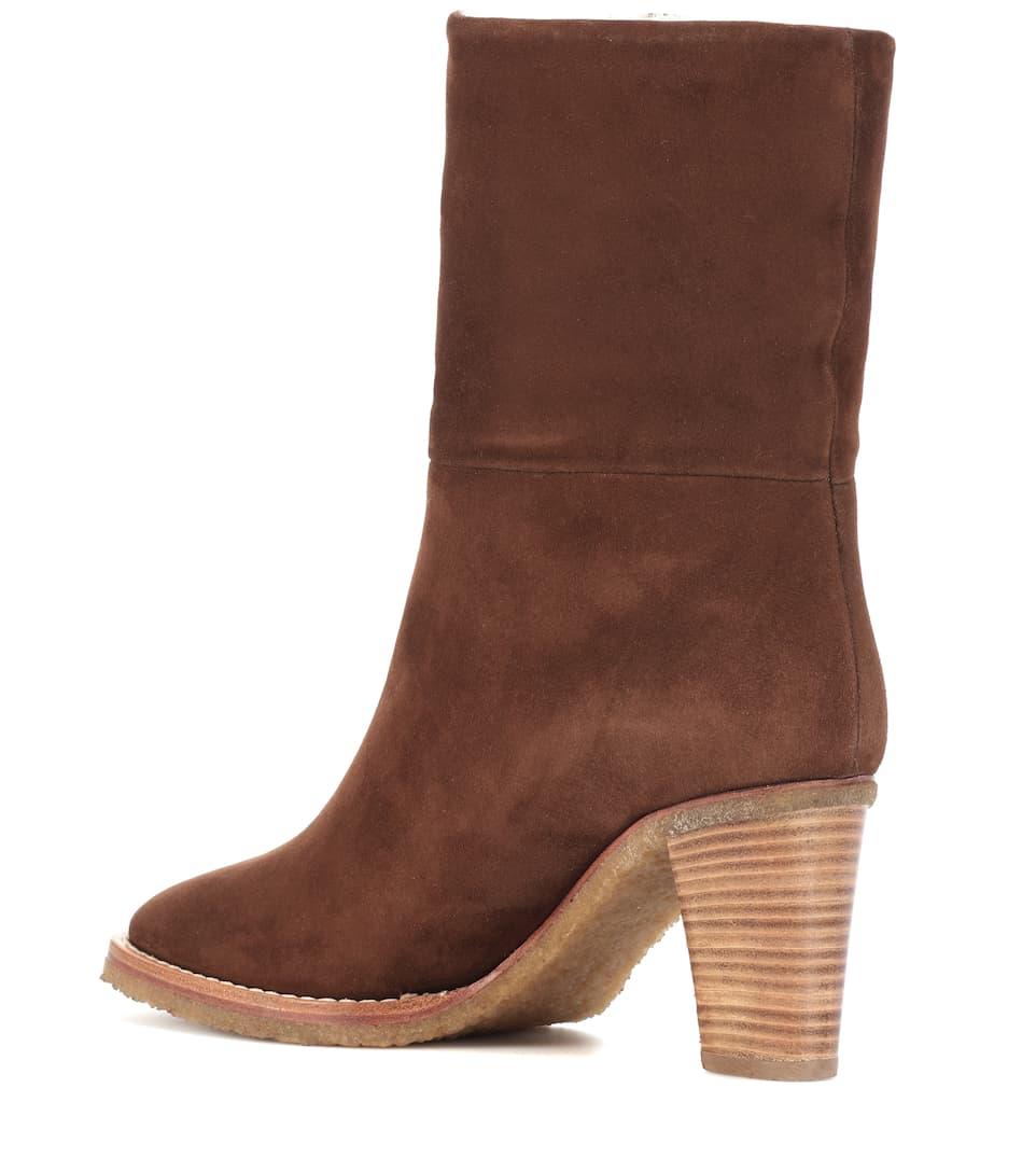 Helen suede ankle boots Gabriela Hearst jAsjnsn