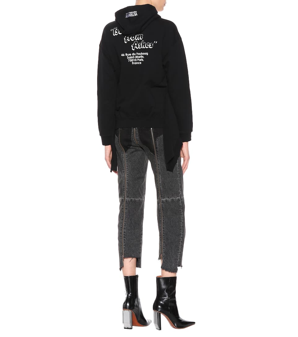 Vetements Printed Hoodie With A Cotton-share