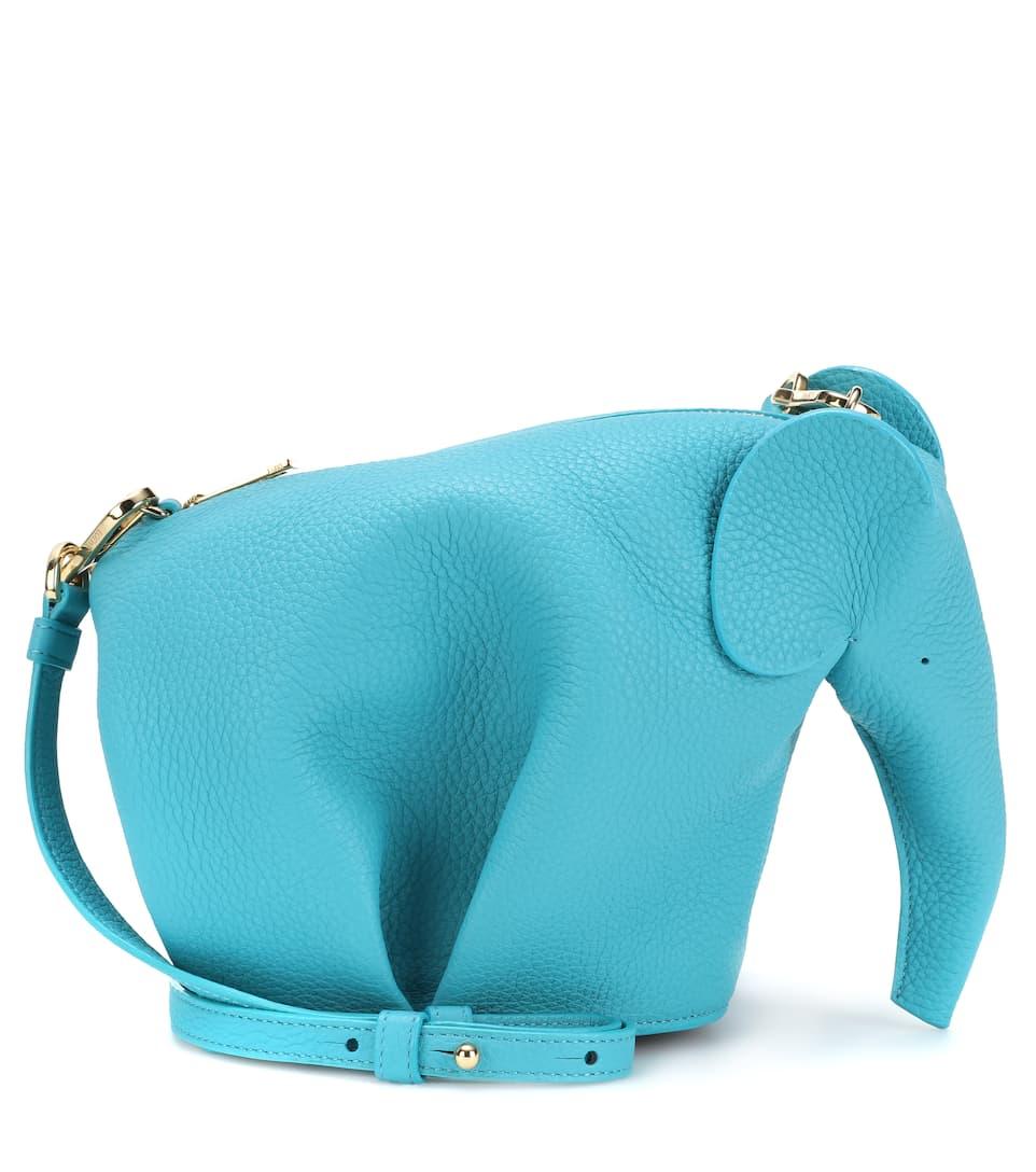 Sac Cross-Body En Cuir Elephant Mini - Loewe