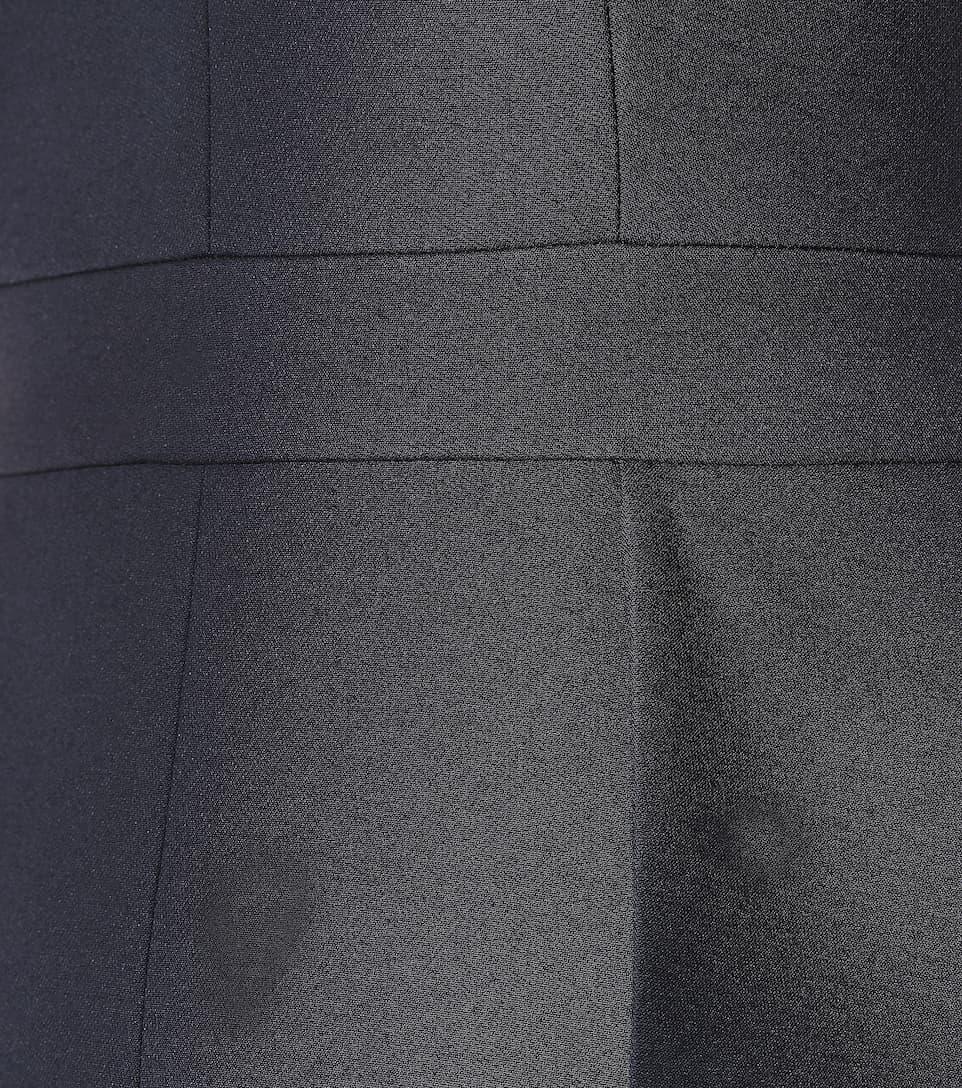 Alexander McQueen Minikleid mit Wolle und Seide Breite Palette Von zEfRwRmD