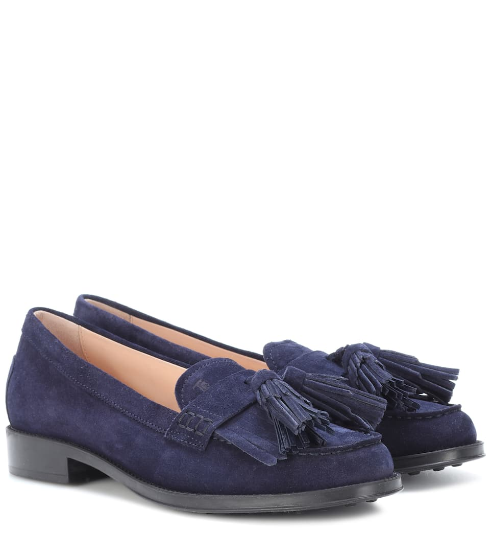 Tods Moccasins From Suede