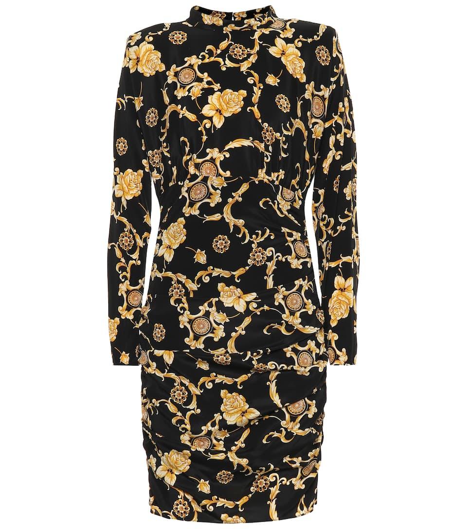 d9e50779c2f Veronica Beard - Printed stretch silk minidress