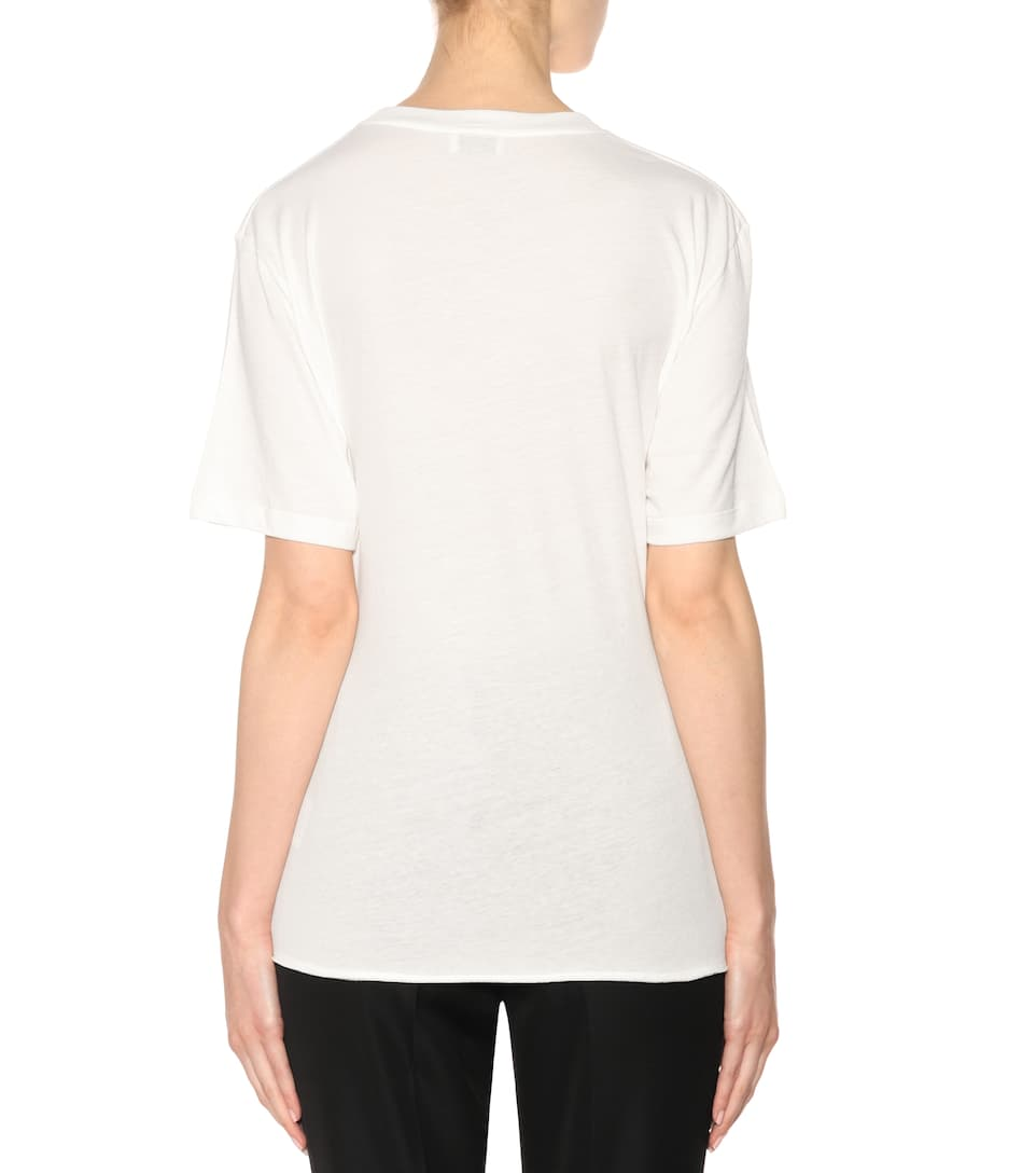Saint Laurent T-shirt Made Of Cotton