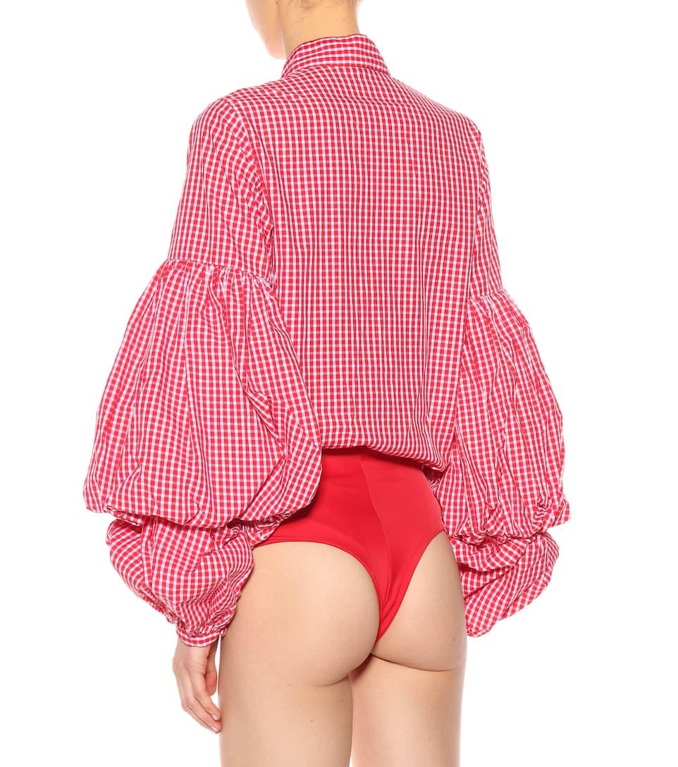Johanna Ortiz Body Jicarilla aus Stretch-Baumwolle