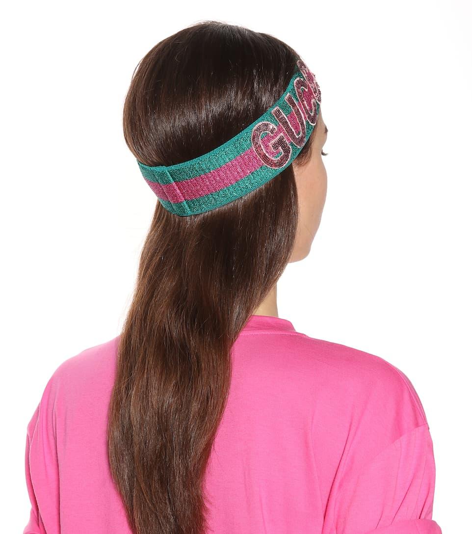 94d27b045b3 Sequinned Headband - Gucci
