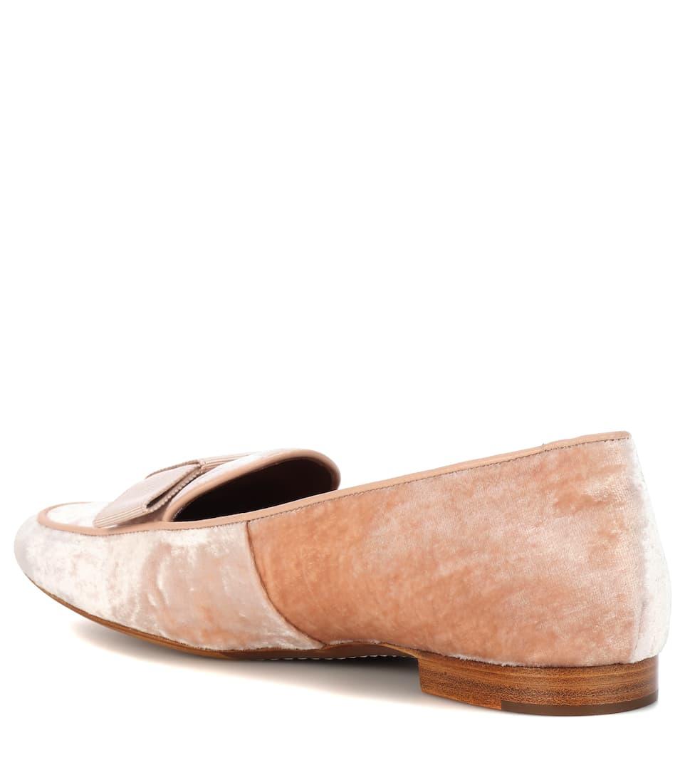 Offizielle Günstig Online Tabitha Simmons Loafers Miny aus Samt Empfehlen Abstand Rabatt Günstig Kaufen Vermarktbare LY8uL