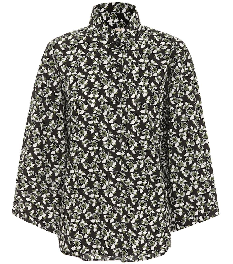 Printed cotton shirt Marni Fake Cheap Price grM1y