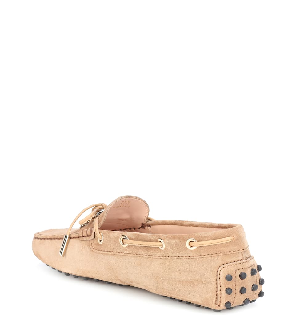 Tods Loafers Gommino From Suede