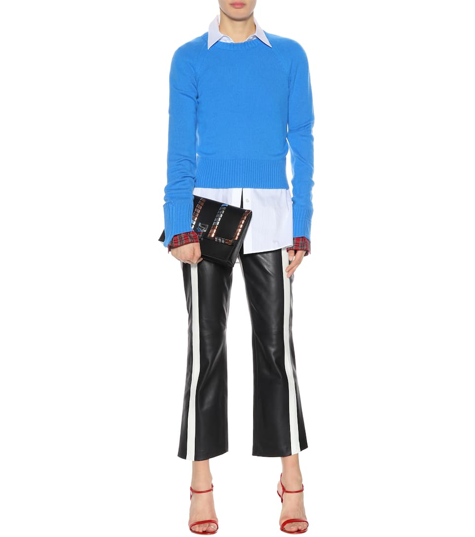 Helmut Lang Cropped Pullover aus Cashmere