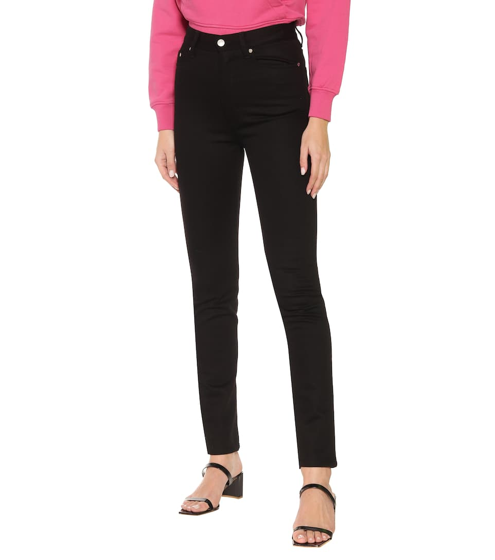AMI - High-rise skinny jeans