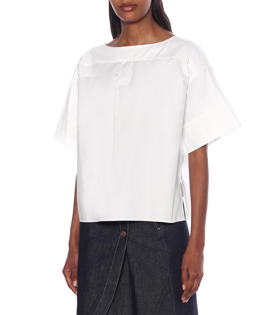 Cotton-Poplin Shirt - See By Chloé