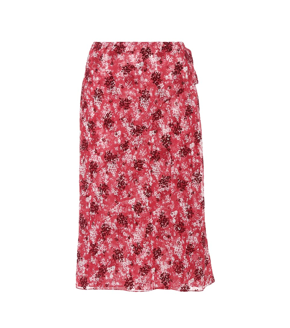 Discount Sale Online Floral-printed wrap skirt CALVIN KLEIN 205W39NYC Newest Cheap Online bFmJD