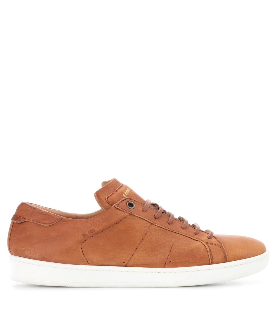 Saint Laurent Sneakers SL/01 aus Leder
