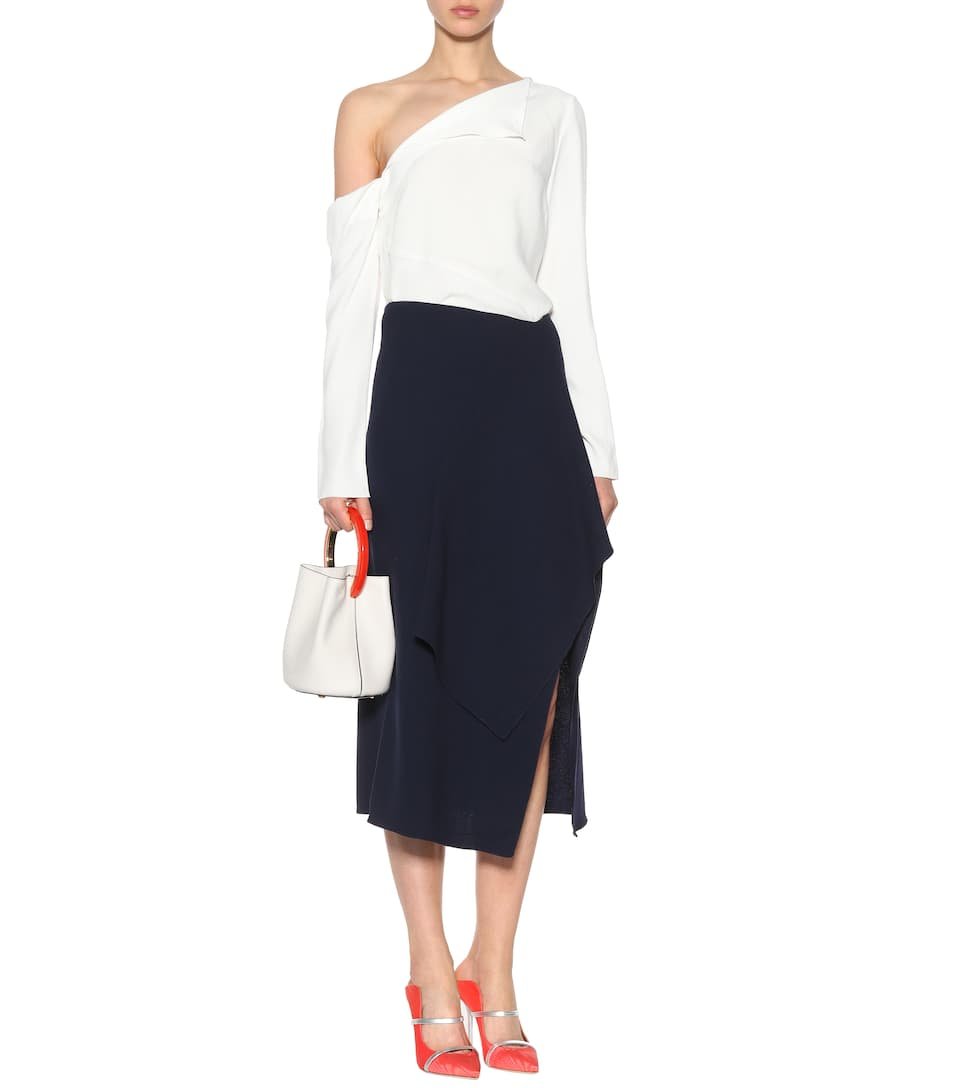 Roland Mouret Crêpe-Wollrock Sidmouth