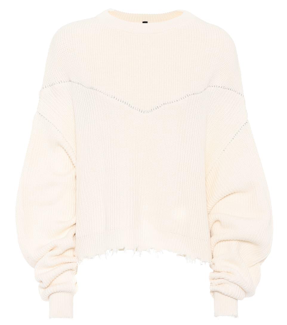 Unravel Pullover aus Baumwolle und Cashmere
