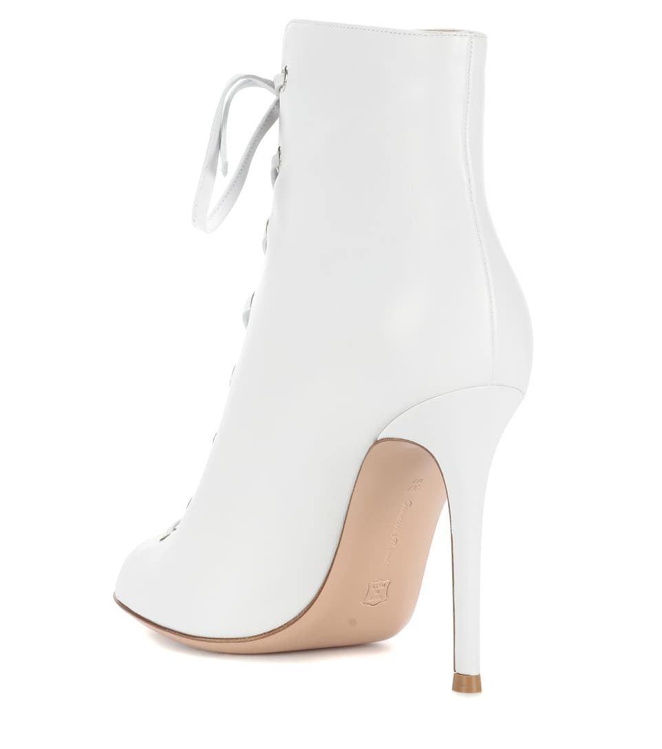 Gianvito Rossi Ankle Boots aus Leder
