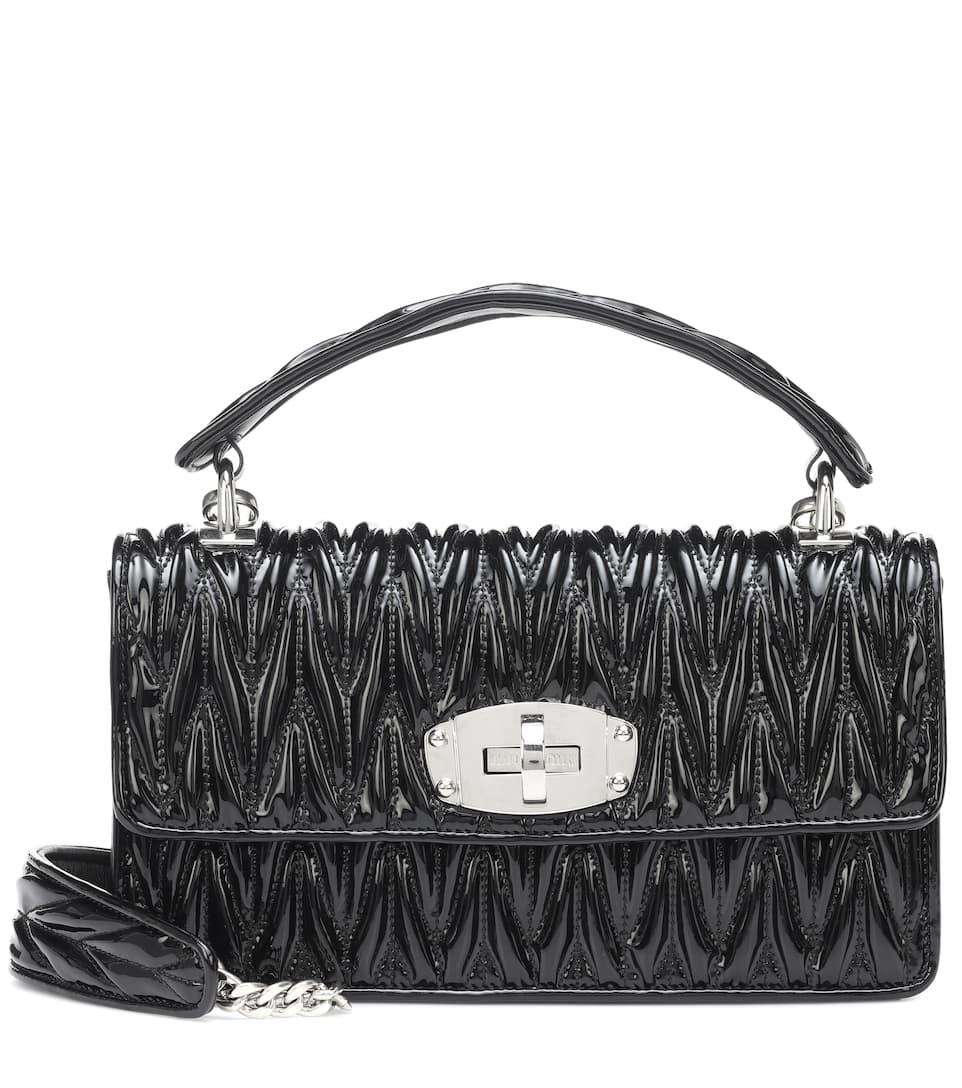 9567858fa92b Matelassé Leather Shoulder Bag
