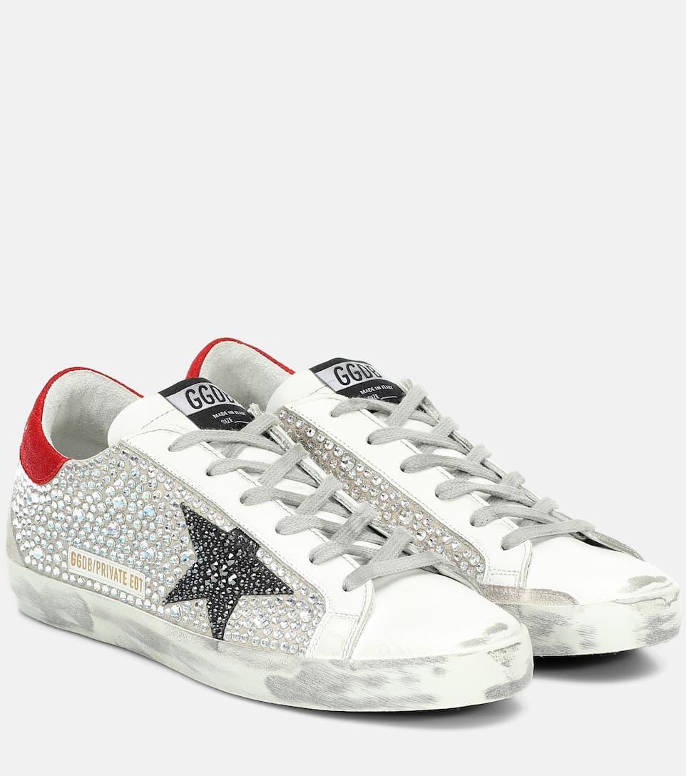 Superstar Embellished Sneakers