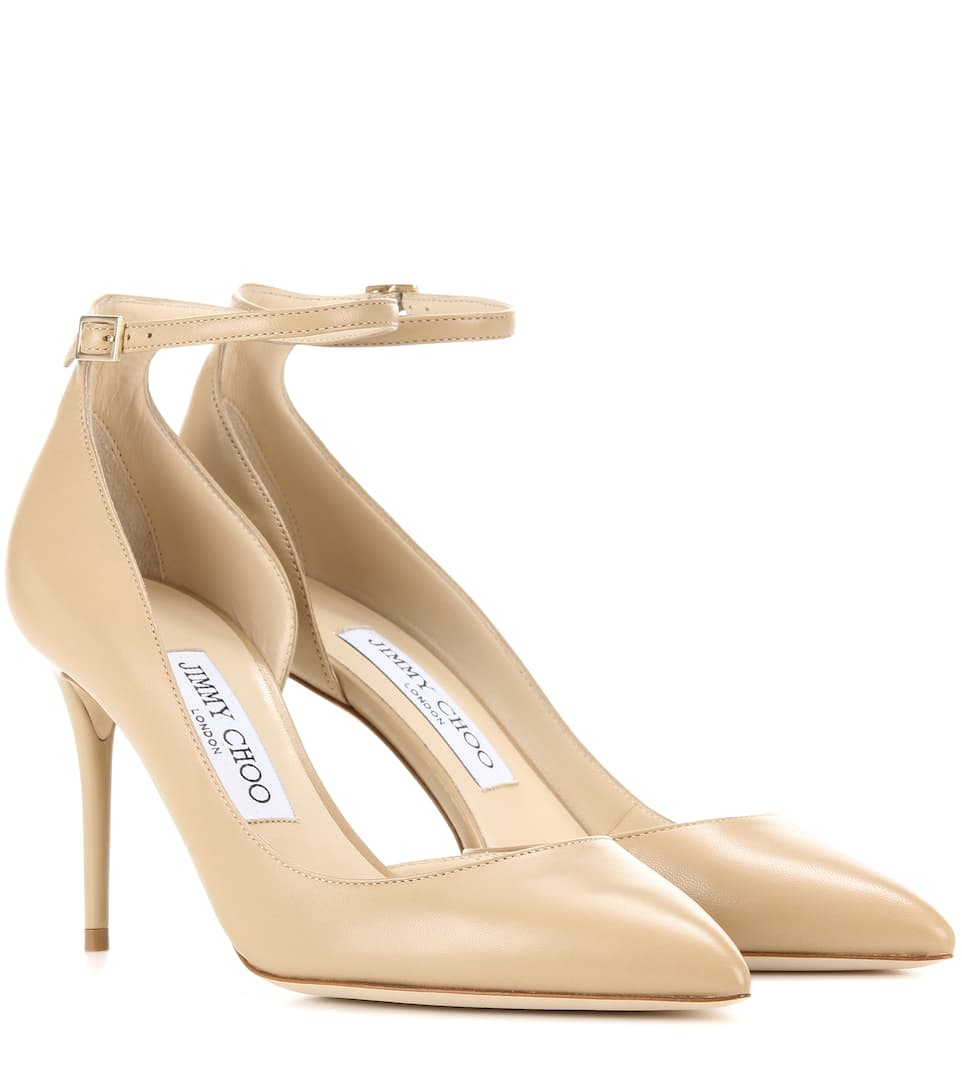 Jimmy Choo Pumps Lucy 85 aus Leder