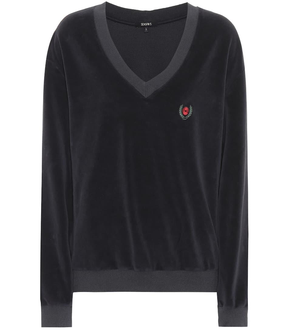 Auslass Hohe Qualität Yeezy Sweatshirt mit Baumwollanteil (SEASON 5) Günstig Kaufen Billig 2018 Günstig Online Freies Verschiffen Bester Verkauf 2018 Neue GbL6ELz