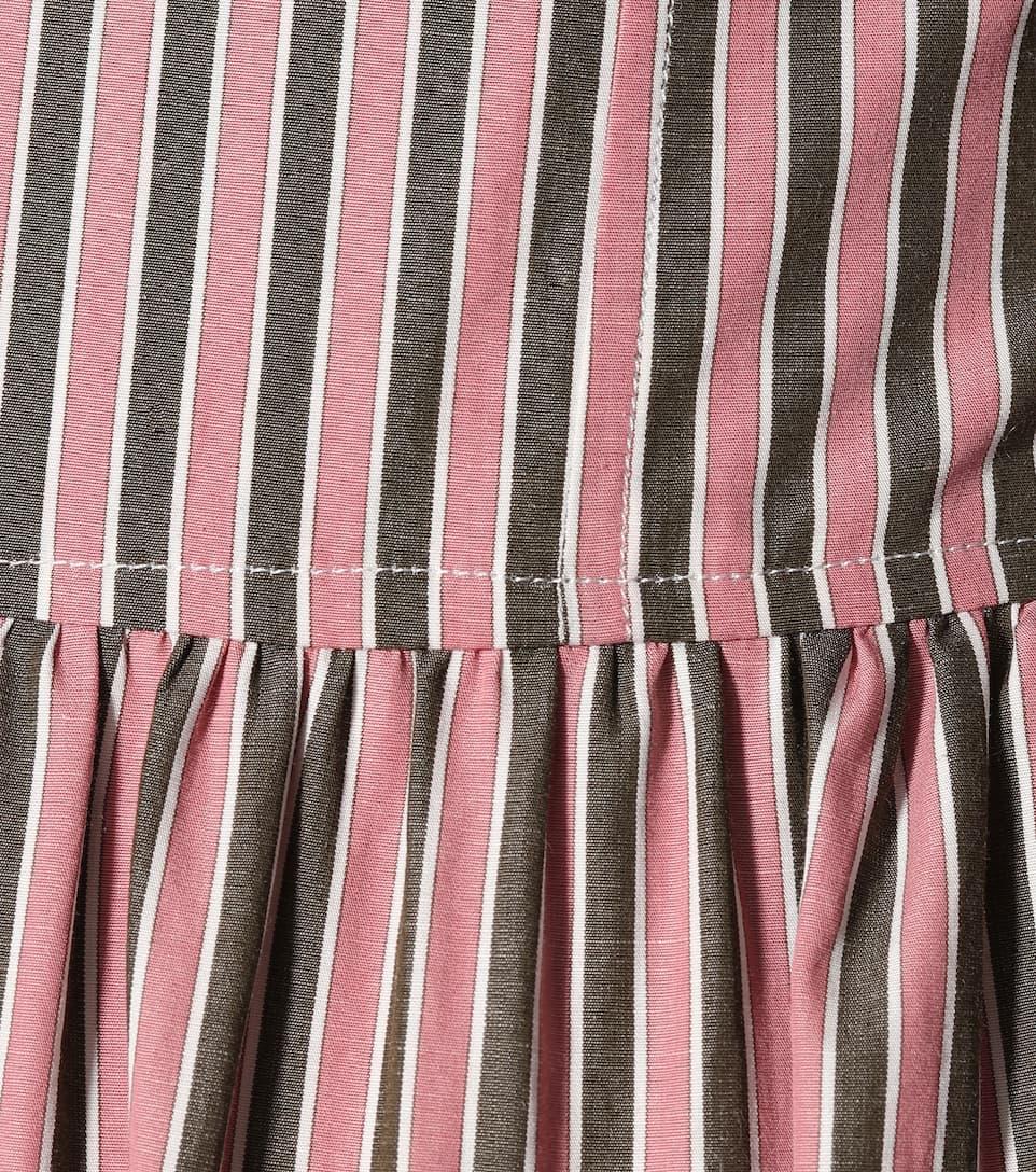AlexaChung Hemdblusenkleid aus Baumwolle Bester Lieferant Freies Verschiffen Empfehlen 9654T2ZL