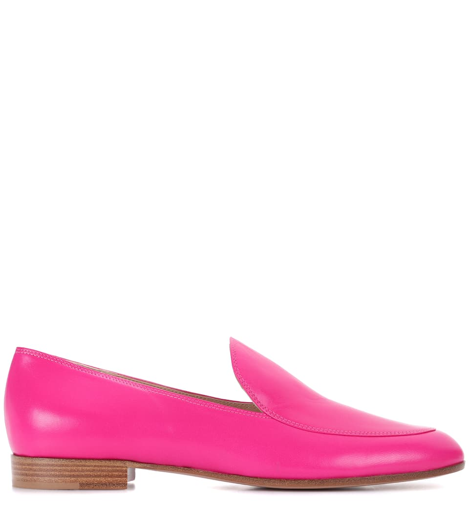 Gianvito Rossi Exclusively At Mytheresa.com - Loafers Marcel Of Leather