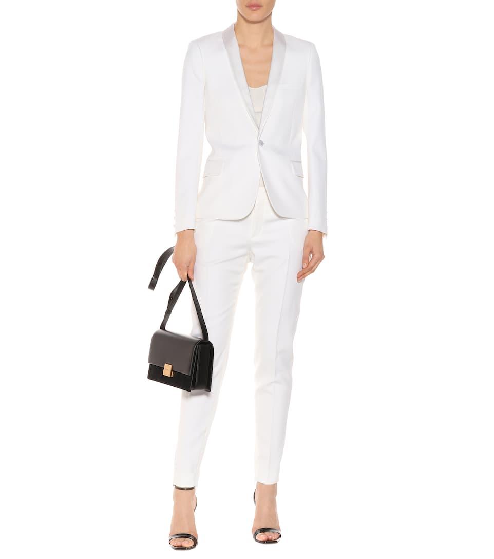 Online Kaufen Authentisch Billig Verkauf Empfehlen Saint Laurent Blazer aus Schurwolle VEtAl