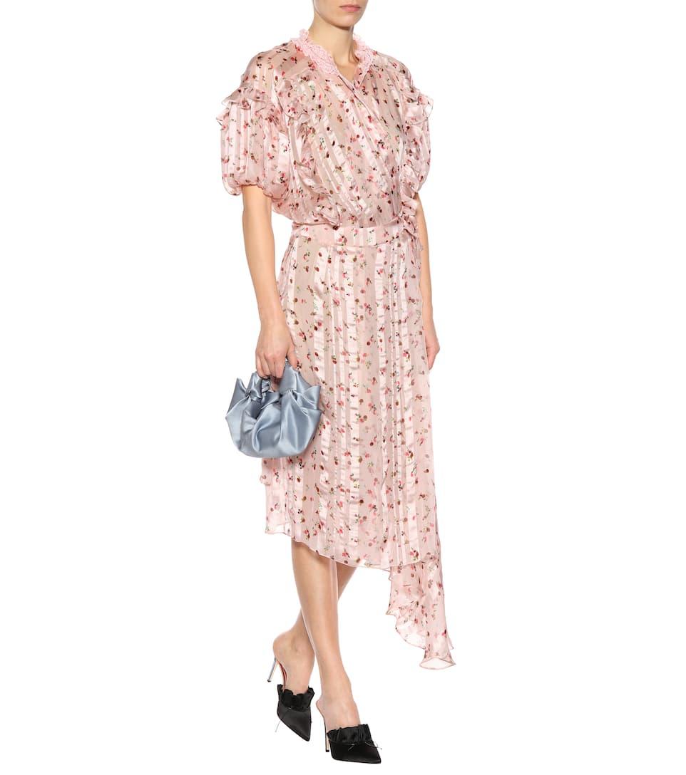 Preen by Thornton Bregazzi Asymmetrisches Kleid Clarissa aus Seide